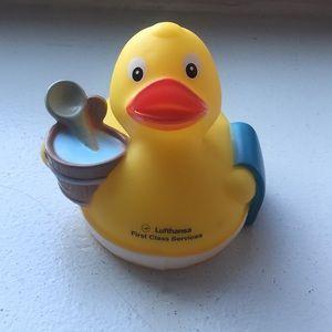Other - Lufthansa First Class Service rubber duck - new